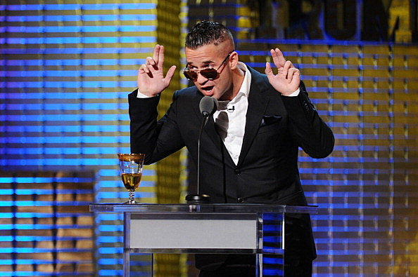 Michael 'The Situation' Sorrentino performs onstage at the Comedy Central Roast Of Donald Trump at the Hammerstein Ballroom on March 9, 2011 in New York City