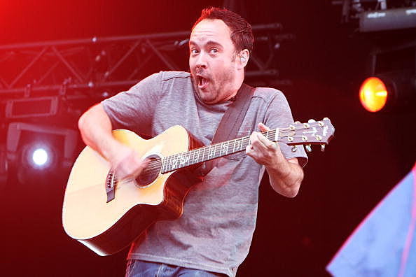 Dave Matthews of 'The Dave Matthews Band'