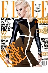 gwen stefani Elle Magazine