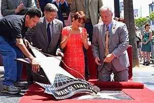 Patricia Heaton Honored On The Hollywood Walk Of Fame