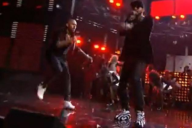 Swizz Beatz with Chris Brown