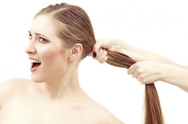 Hair pulling Nude Photos 14