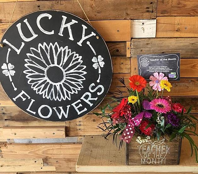Lucky Flowers Teacher of the Month