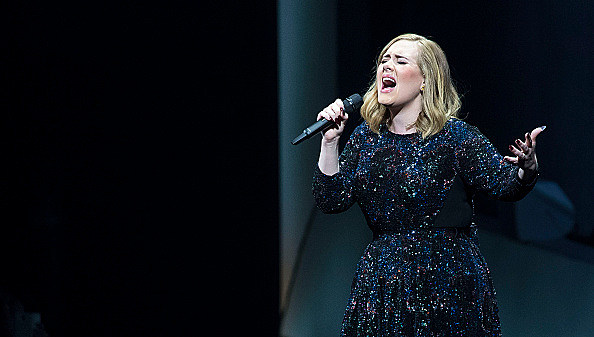 Adele Performs At The Ziggo Dome, Amsterdam