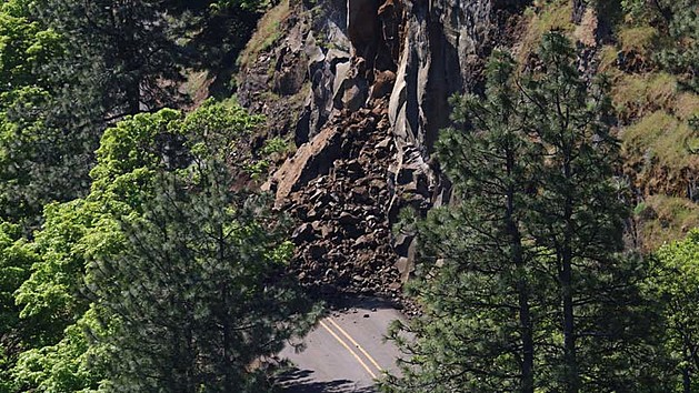 Rock slide ODOT