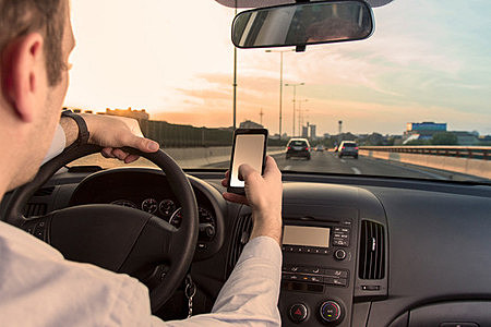 Texting and driving by zoff-photo