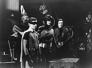Batman & Robin & The Joker