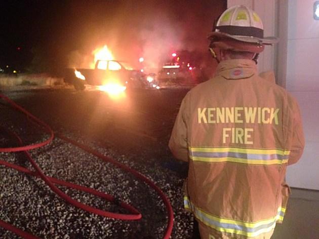Burning truck 2 kpd