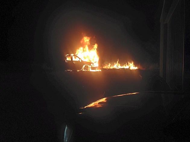 Burning truck kpd 1