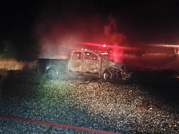 burning truck 3 kpd